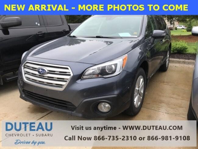 Pre-Owned 2017 Subaru Outback 2.5i SUV for sale in Lincoln, NE