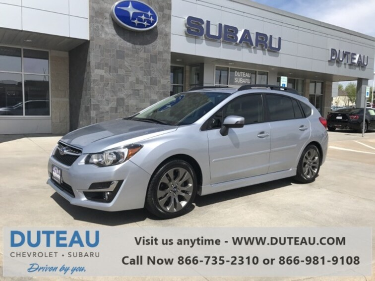 Pre-Owned 2016 Subaru Impreza 2.0i Sport Limited Hatchback for sale in Lincoln, NE