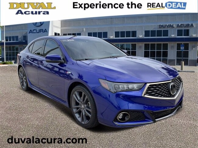 2018 Acura TLX 3.5L V6 w/Technology & A-Spec Packages Sedan for sale in Jacksonville, Florida