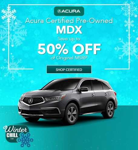 Acura Certified Pre-Owned MDX | Savings