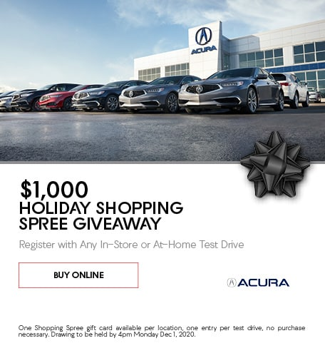 $100 Holiday Shopping Spree Give Away