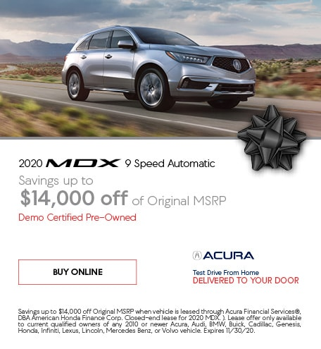 Certified Pre-Owned 2020 Acura MDX | Savings