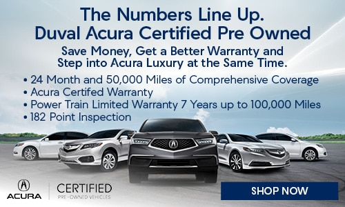 Used Cars Jacksonville >> Used Cars For Sale In Jacksonville Duval Acura