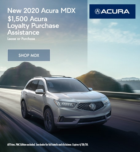 New 2020 Acura MDX | Purchase Assistance