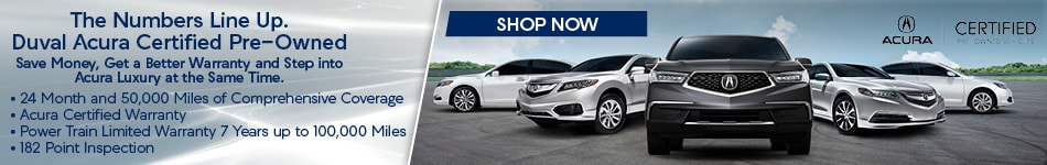 Duval Acura Certified Pre-Owned