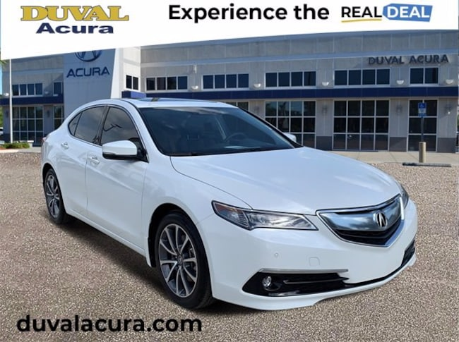 2017 Acura TLX 3.5L V6 w/Advance Package Sedan for sale in Jacksonville, Florida