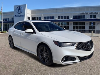 2018 Acura TLX 3.5L V6 w/Technology & A-Spec Packages Sedan