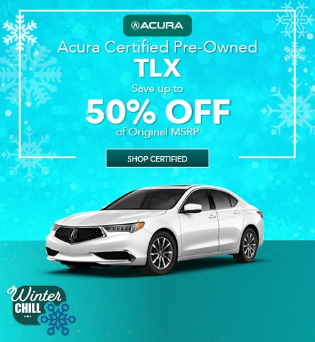 Acura Certified Pre-Owned TLX | Savings