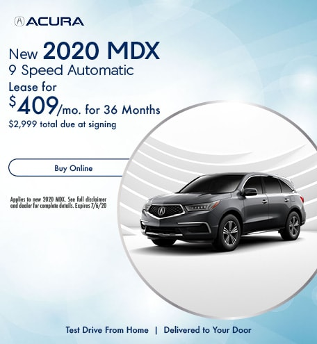 New 2020 Acura MDX | Lease