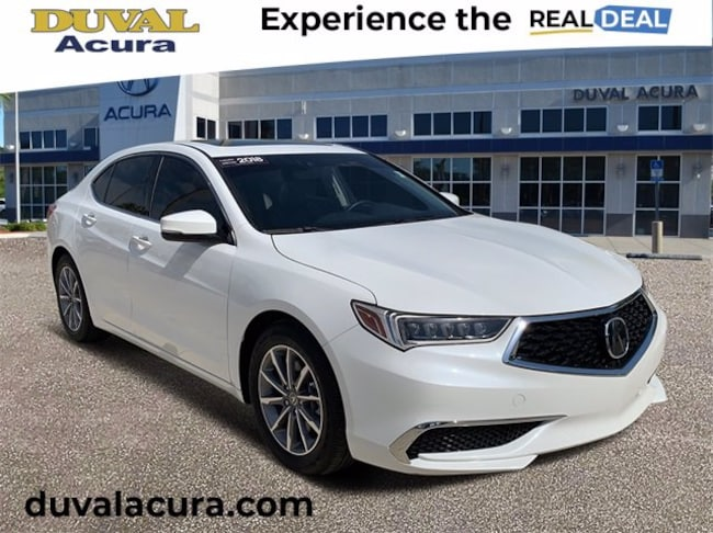 2018 Acura TLX 2.4L w/Technology Package Sedan for sale in Jacksonville, Florida