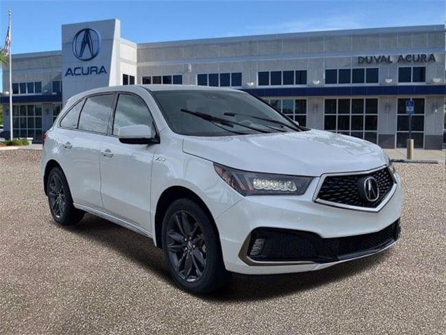 DYNAMIC_PREF_LABEL_AUTO_NEW_DETAILS_INVENTORY_DETAIL1_ALTATTRIBUTEBEFORE 2020 Acura MDX SH-AWD with A-Spec Package SUV for sale in Jacksonville, Florida