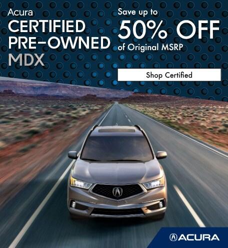 Certified Acura MDX   Savings
