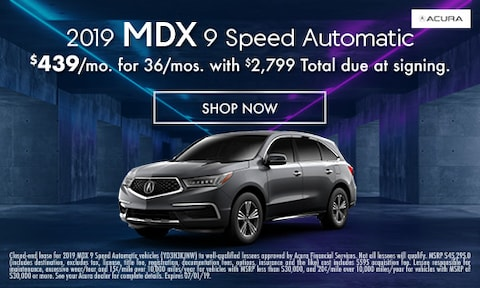 2019 MDX Lease - May