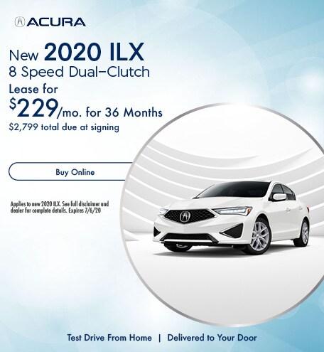 New 2020 Acura ILX | Lease
