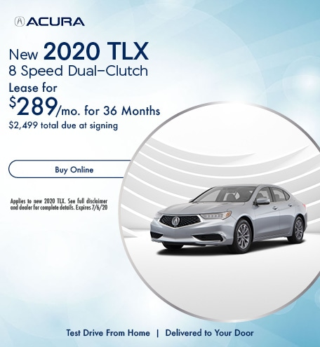 New 2020 Acura TLX | Lease