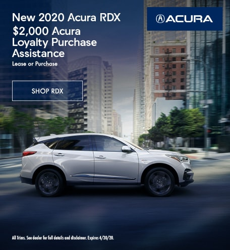New 2020 Acura RDX | Purchase Assistance