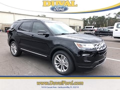 2019 Ford Explorer XLT SUV for sale in Jacksonville at Duval Ford
