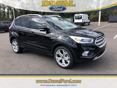 2019 Ford Escape Titanium SUV for sale in Jacksonville at Duval Ford