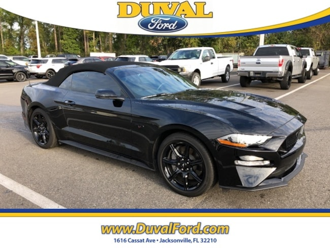2019 Ford Mustang GT Premium Convertible for sale in Jacksonville at Duval Ford
