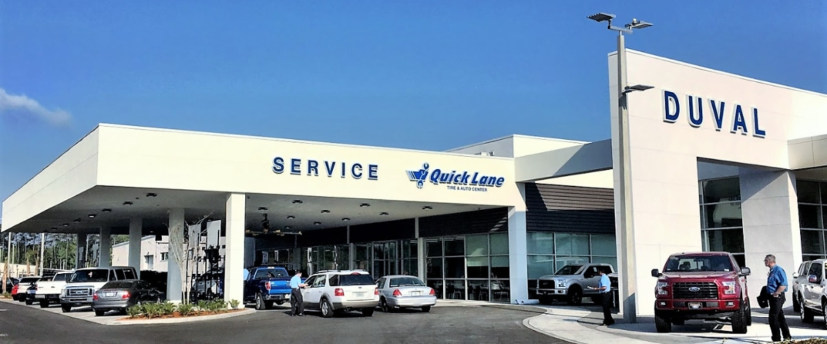 Duval Ford Service Center in Jacksonville