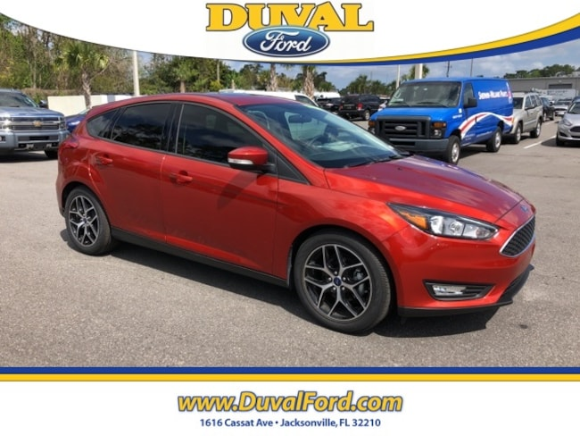 2018 Ford Focus SEL Hatchback for sale in Jacksonville at Duval Ford