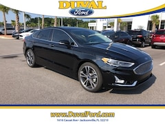 2019 Ford Fusion Titanium Sedan for sale in Jacksonville at Duval Ford