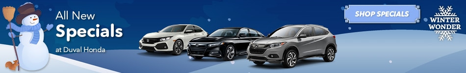 All New Special Offers at Duval Honda