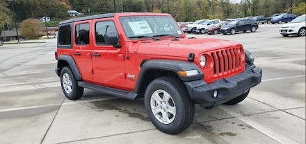 New 2021 Jeep Wrangler UNLIMITED SPORT S 4X4 Sport Utility Clayton, GA