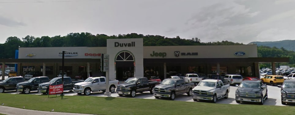 About Duvall Chrysler Dodge Jeep, Inc  in Clayton GA | Serving