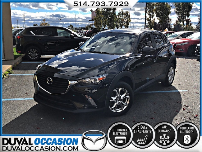 2016 Mazda CX-3 GS LUXE + AWD + CUIR + TOIT OUVRANT VUS