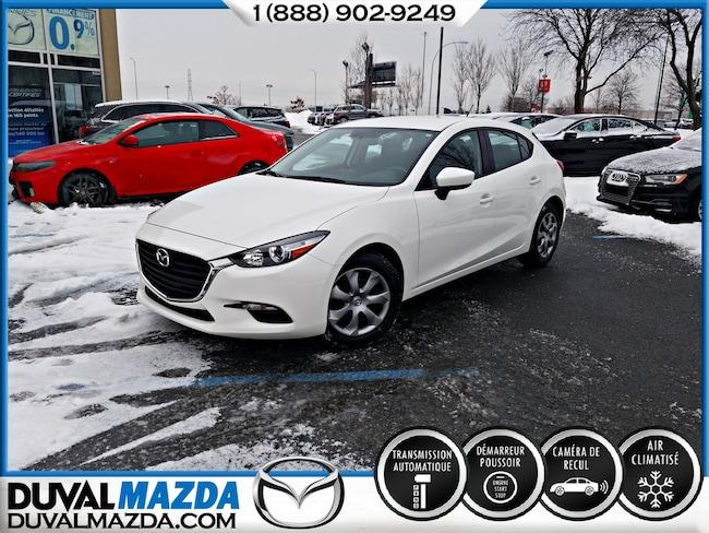 2017 Mazda Mazda3 Sport GX AUTOMATIQUE LIQUIDATION 2017 À hayon