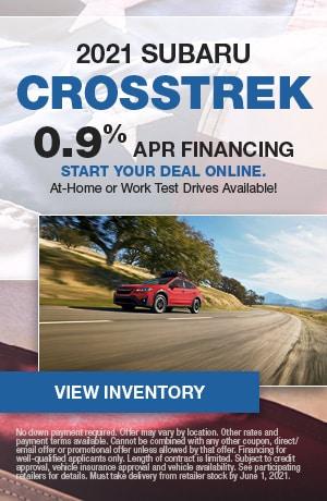 2021 Subaru Crosstrek- May Offer