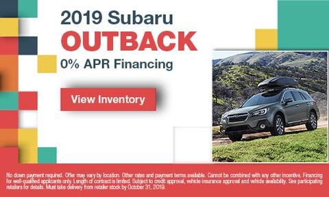 October Outback Offer
