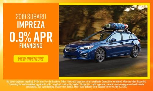 June Impreza Offer at Subaru of Gainesville