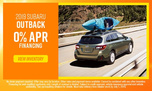 June Outback Offer at Subaru of Gainesville