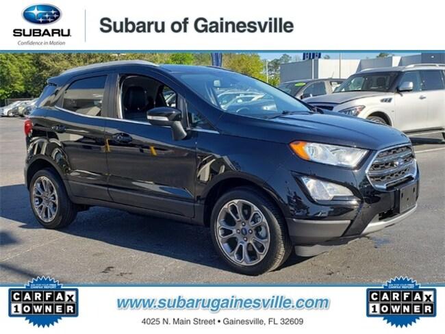 Used 2018 Ford EcoSport Titanium SUV in Gainesville, FL