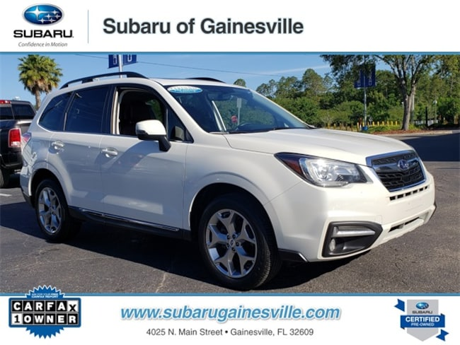 Certified Used 2017 Subaru Forester 2.5i Touring SUV in Gainesville, FL