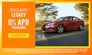 June Legacy Offer at Subaru of Gainesville