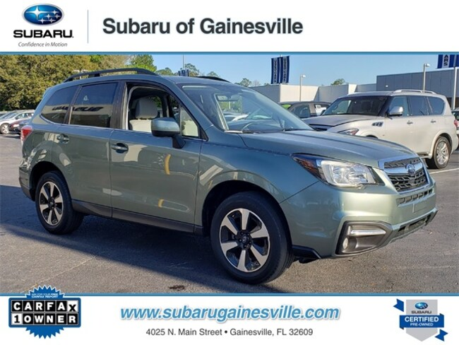Certified Used 2017 Subaru Forester 2.5i Limited SUV in Gainesville, FL