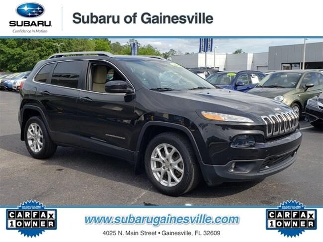 Used 2015 Jeep Cherokee Latitude SUV in Gainesville, FL