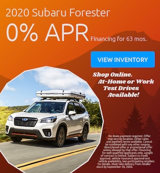 September Forester Offer