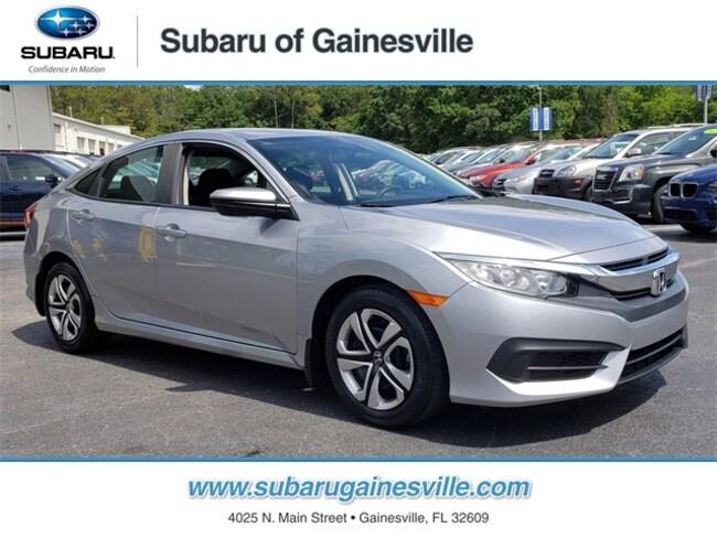 Used 2017 Honda Civic LX Sedan in Gainesville, FL