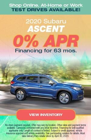 April Ascent Offer
