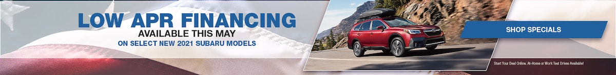 Low APR Financing Available this May- May Offer