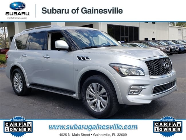 Used 2017 INFINITI QX80 Base SUV in Gainesville, FL