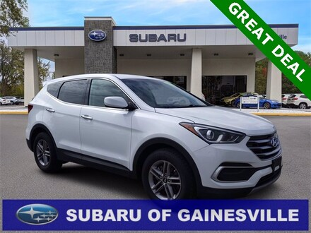Featured Used 2018 Hyundai Santa Fe Sport 2.4 Base SUV for Sale near Alachua, FL
