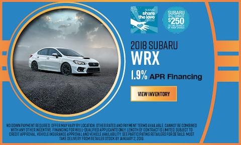 2018 Subaru WRX APR Offer