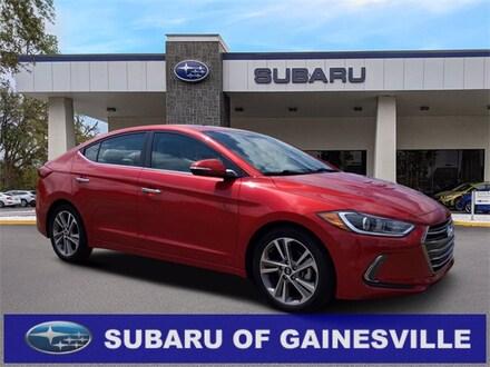 Featured Used 2017 Hyundai Elantra Limited Sedan for Sale near Alachua, FL