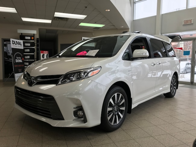 2018 Toyota Sienna LIMITED AWD NAVIGATION 3000$ RABAIS Van Passenger Van