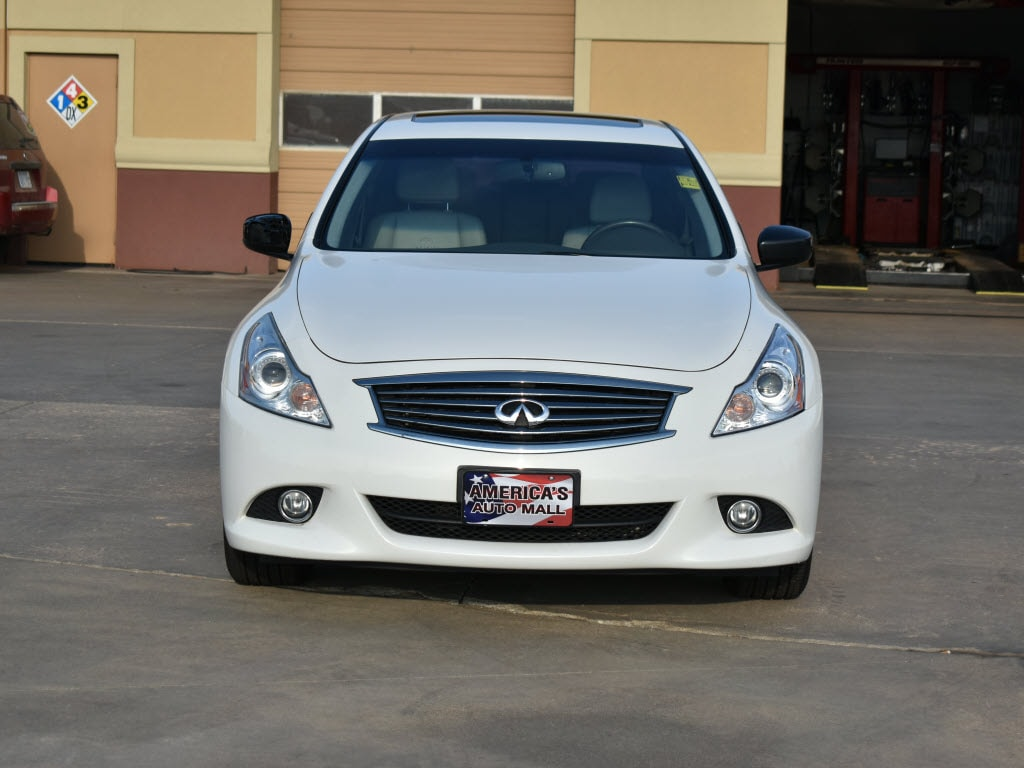 Used 2012 INFINITI G25x For Sale at America's Auto Mall